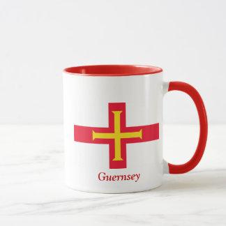 ガーンジーの旗 マグカップ