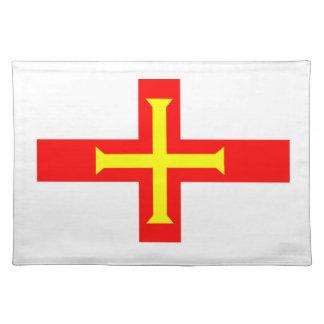 ガーンジーの旗 ランチョンマット