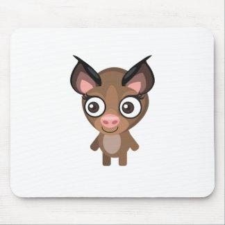 キクガシラコウモリ-私の保存公園 マウスパッド