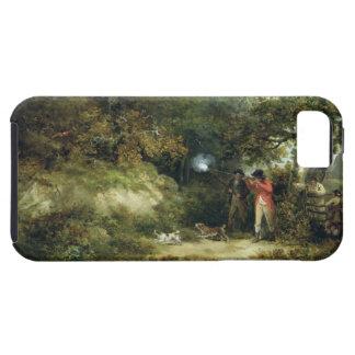 キジの射撃、発砲(キャンバスの油) 3 iPhone SE/5/5s ケース