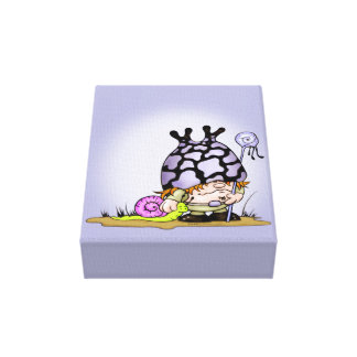 """キスして下さい及びTRIPOKの漫画のキャンバス2.5"""" - 8"""" x 10"""" キャンバスプリント"""