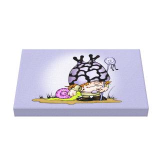 """キスして下さい及びTRIPOKの漫画1.5"""" - X小さい16.50"""" X11 """" キャンバスプリント"""