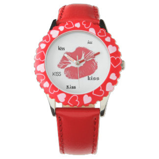 キスのキスのキスの腕時計のデザイン 腕時計