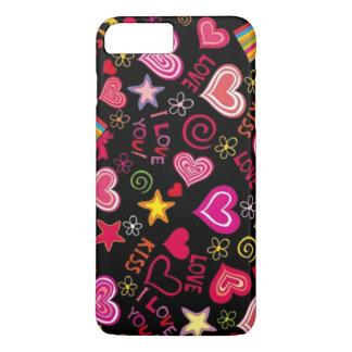 キスのキス愛愛 iPhone 8 PLUS/7 PLUSケース