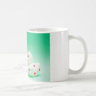 キスのゴムアヒル コーヒーマグカップ