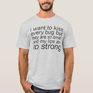 キスの虫 Tシャツ
