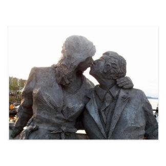 キスをするな彫像 ポストカード