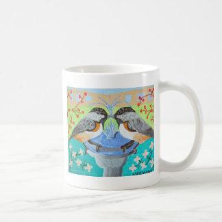 キスをするな《鳥》アメリカゴガラのマグ コーヒーマグカップ