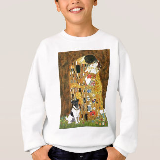 キス-滑らかなフォックステリア犬 スウェットシャツ