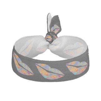 キス-熱帯スタイルと密封される ヘアタイ