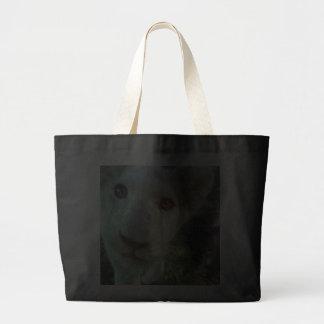 キス|私|バッグ ジャンボトートバッグ