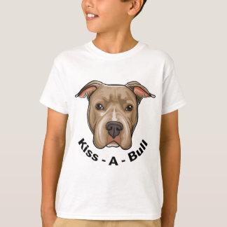 キスBullのピット・ブル Tシャツ