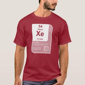 キセノン (Xe) Tシャツ