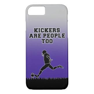 キッカーは人々の余りにフットボールの電話箱です iPhone 8/7ケース