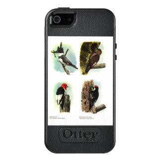キツツキのオッターボックスのiPhone SE/5/5sの対称の場合 オッターボックスiPhone SE/5/5s ケース