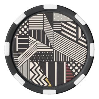 キツツキの陶磁器のポーカー用のチップ ポーカーチップ