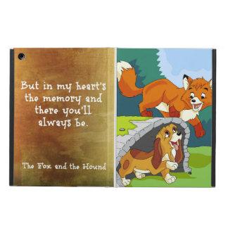 キツネおよび猟犬 iPad AIRケース