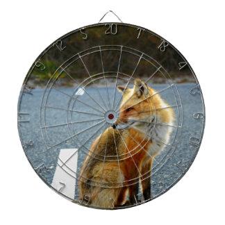キツネの側面図 ダーツボード