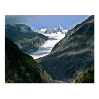 キツネの氷河 ポストカード