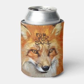 キツネの為のデザインのため 缶クーラー