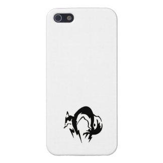 キツネの猟犬のiphoneの場合 iPhone SE/5/5sケース