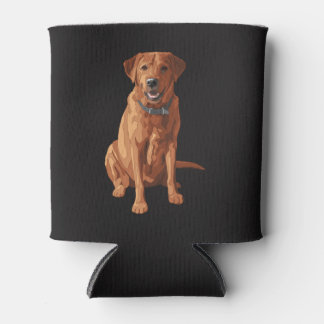 キツネの赤く黄色いラブラドル・レトリーバー犬犬 缶クーラー