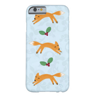 キツネ及び果実 BARELY THERE iPhone 6 ケース