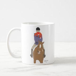 キツネ狩りの朝食 コーヒーマグカップ
