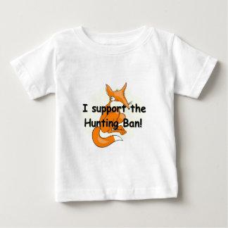 キツネIサポート狩りの禁止 ベビーTシャツ