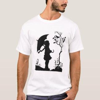 キヅタが付いている森 Tシャツ