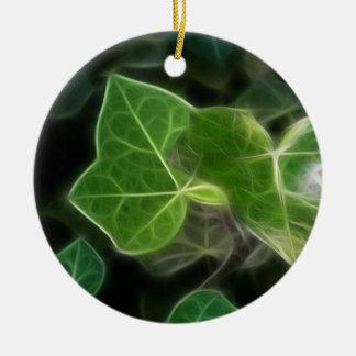 キヅタのつる植物5 セラミックオーナメント