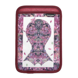 キヅタのクリーパーのフラクタルの頭部の芸術 iPadミニ スリーブ