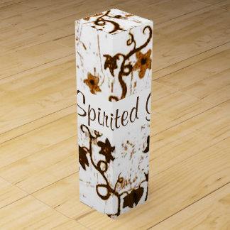 キヅタの抽象芸術2 ワインギフトボックス