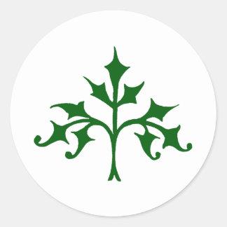 キヅタの木 ラウンドシール