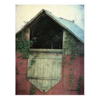 キヅタの納屋 ポストカード