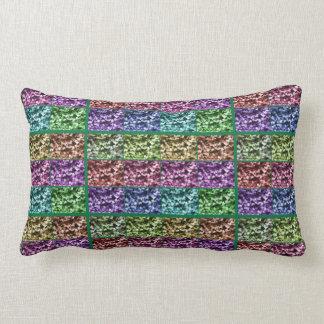 キヅタの葉の写真の進行のLumbarの枕 ランバークッション
