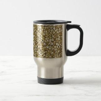 キノアの穀物のマクロ写真 トラベルマグ