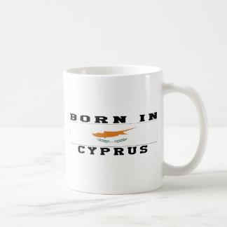 キプロスで生まれて下さい コーヒーマグカップ