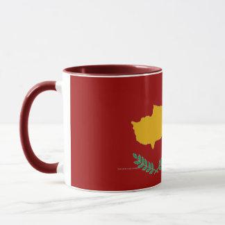 キプロスのキプロスの旗のマグ マグカップ