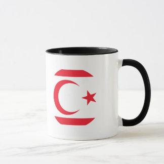 キプロスの北の旗 マグカップ