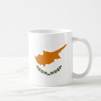 キプロスの旗 コーヒーマグカップ