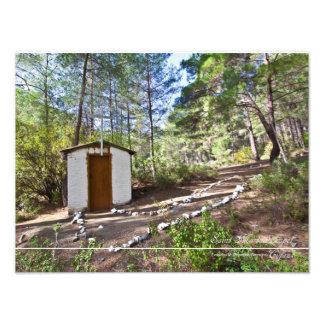 キプロスの森林の小さいチャペル聖者のマリーナ フォトプリント