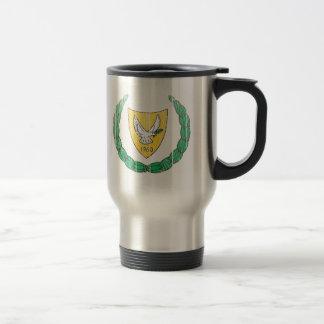 キプロスの紋章付き外衣 トラベルマグ