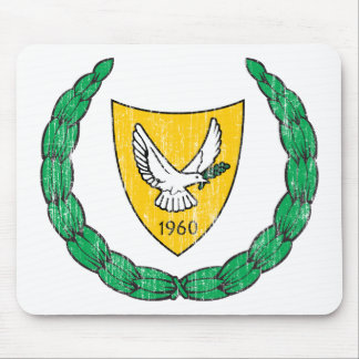 キプロスの紋章付き外衣 マウスパッド