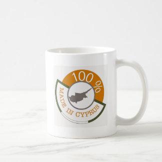 キプロス100%の頂上 コーヒーマグカップ