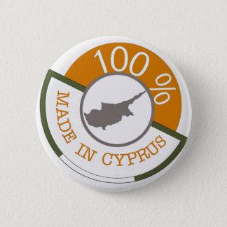 キプロス100%の頂上 5.7CM 丸型バッジ
