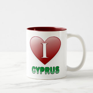 キプロス ツートーンマグカップ