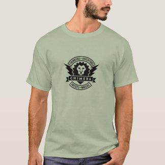 キメラの芸術及びメーカーの宇宙のTシャツ Tシャツ