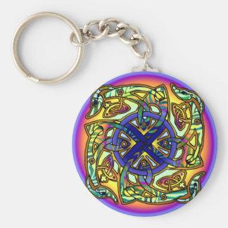 キメラの車輪日曜日Keychain キーホルダー