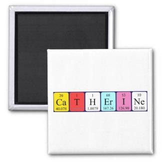 キャサリンの周期表の名前の磁石 マグネット